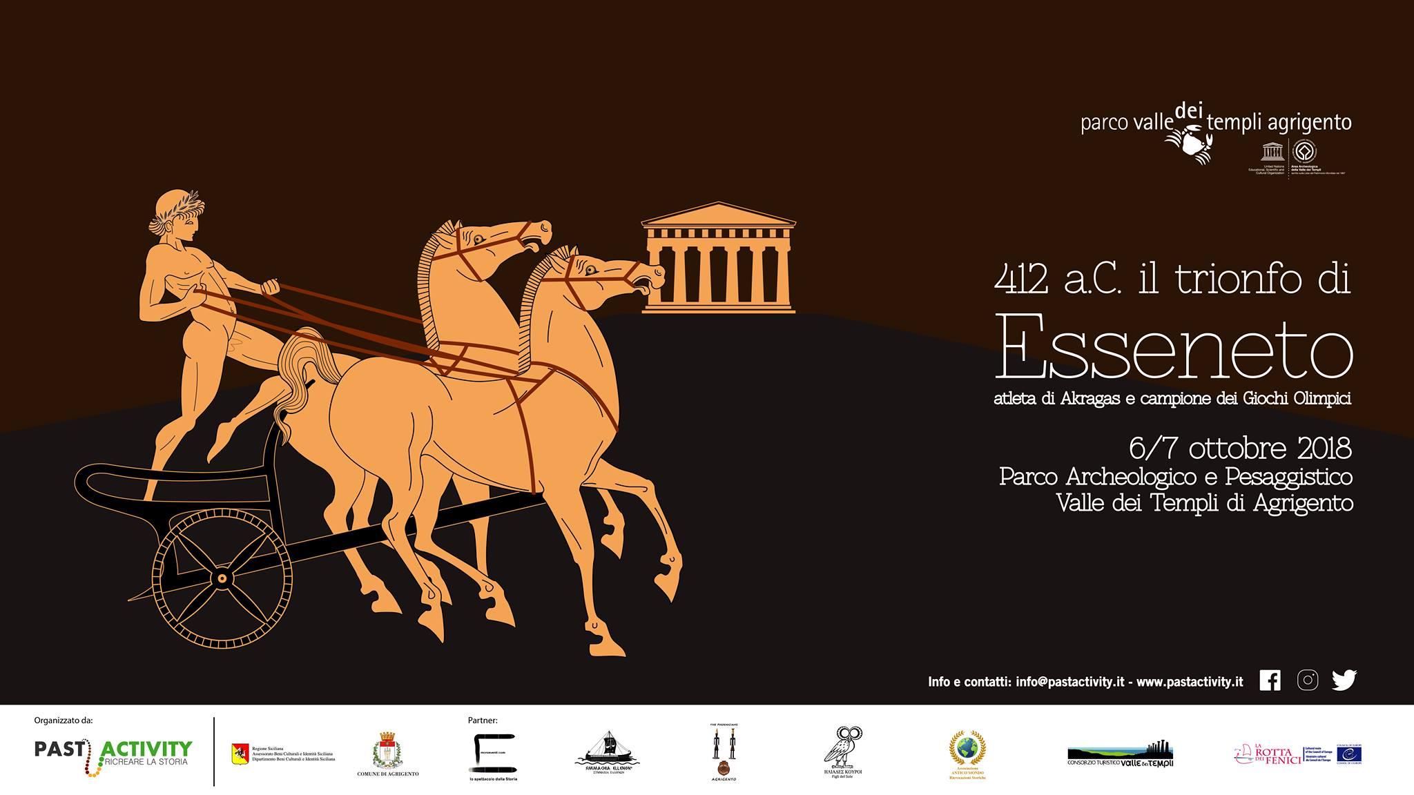 412 a.C. Il trionfo di Esseneto (AG) @ Sicilia | Italia